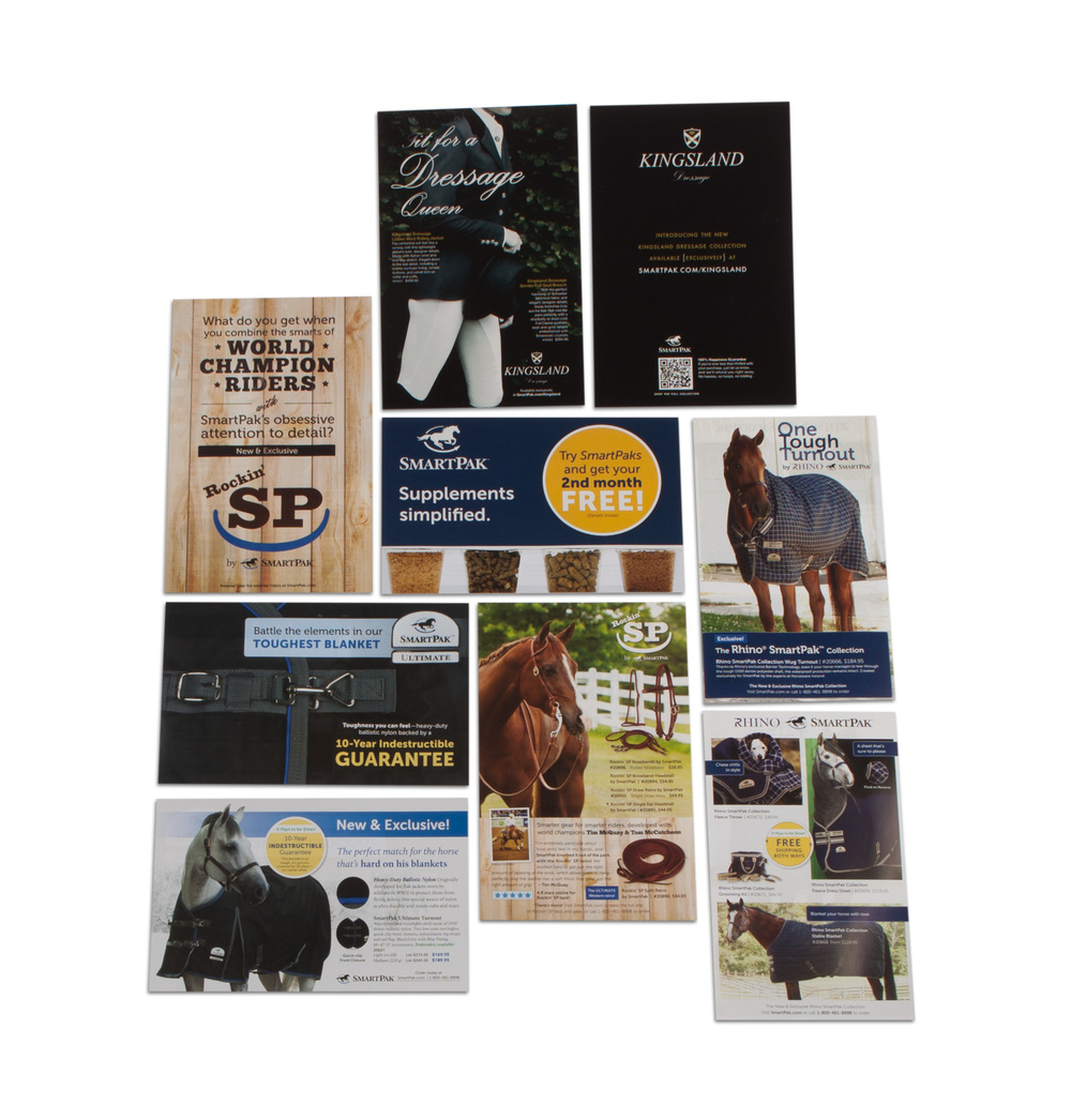 SmartPak Direct Mailers