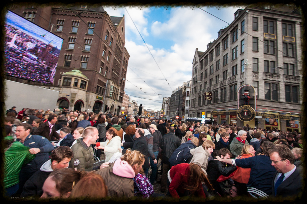 04th of May Dam Square - Amsterdam