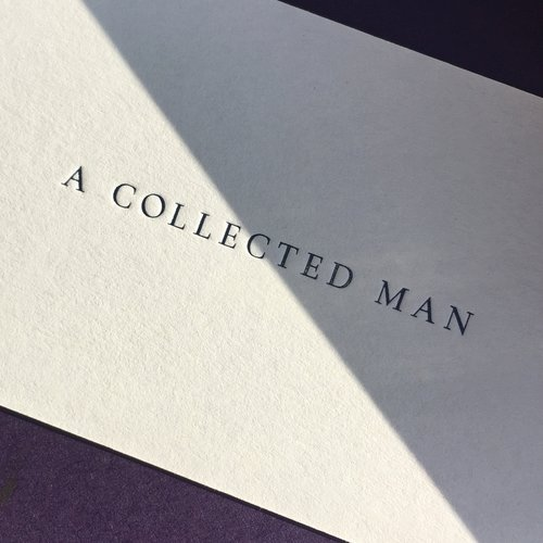 Dot studio business cards printed for a collected man printing 11 side a dark reheart Choice Image