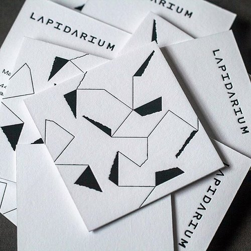 Dot studio business cards for lapidarium london business cards for lapidarium london hot foil printing reheart Image collections
