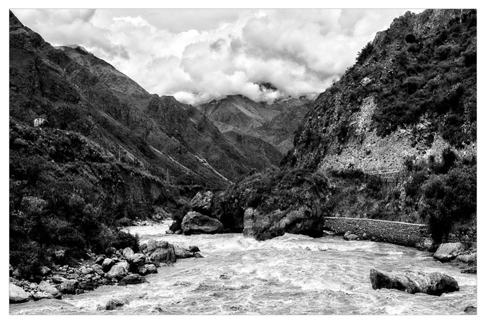 The start of the Inca Trail...four days of walking to Machu Picchu. I had no idea what I was in for.