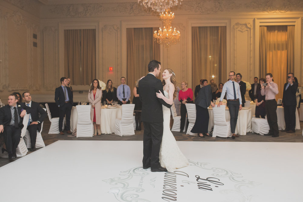 First dance at the King Eward