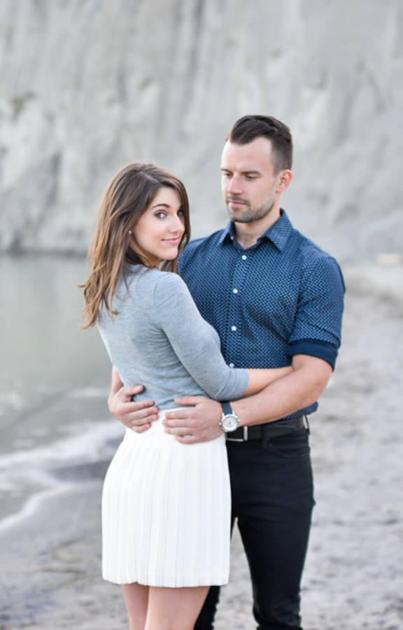 Engagement shoot photo