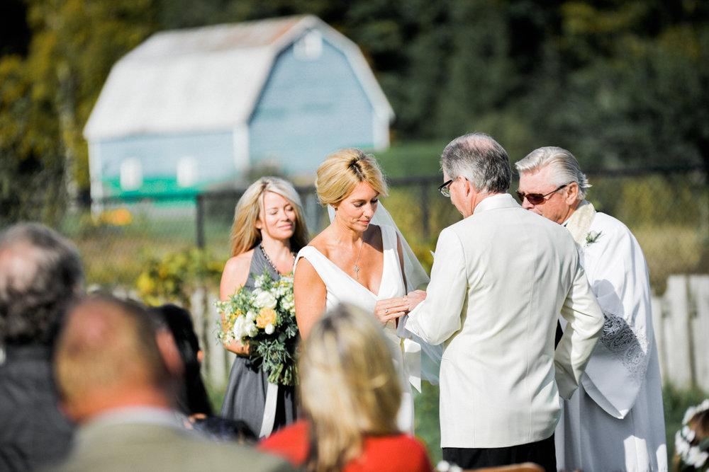 Backyard Wedding Kim and Don