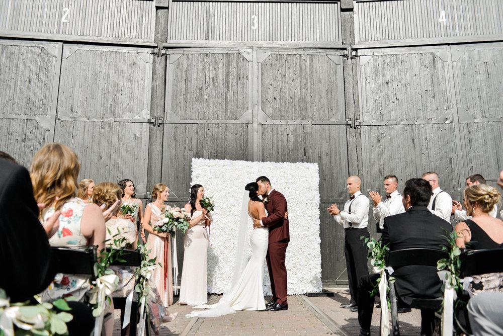 Steam Whistle Wedding Ceremony