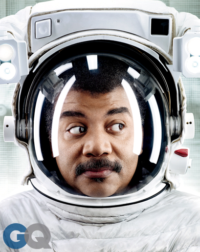Neil de Grasse Tyson's GQ photoshoot.  PHOTOGRAPHS BY    ART STREIBER