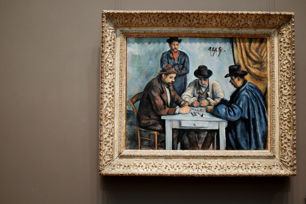 Metropolitan Museum of Art | Paul Cezanne | Card Players 5