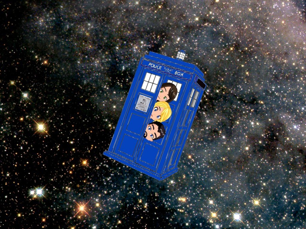 Two girls, a guy and a TARDIS....The Podcast - Nervous Dog Produ