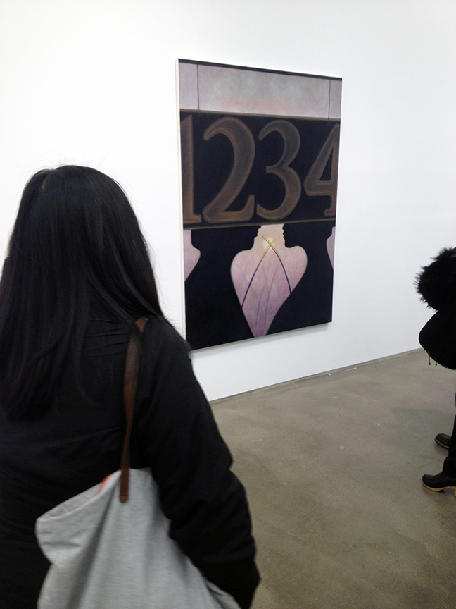 Stuart Hawkins at Zach Feuer  January 9, 2014
