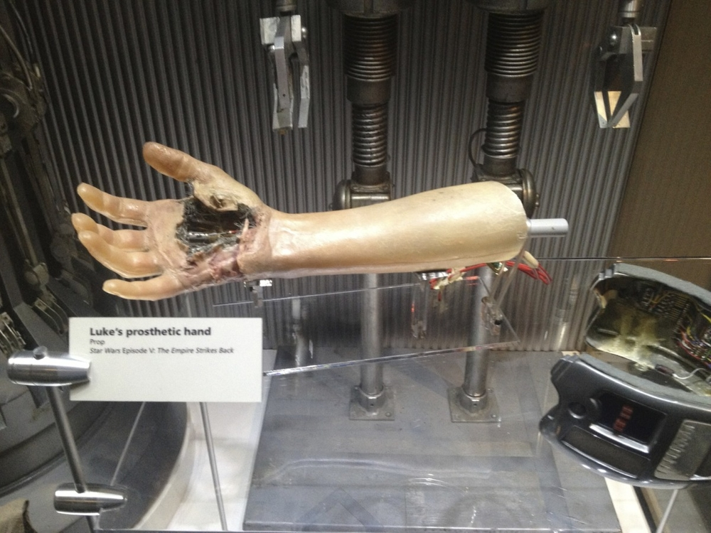 Luke's Hand, Episode V
