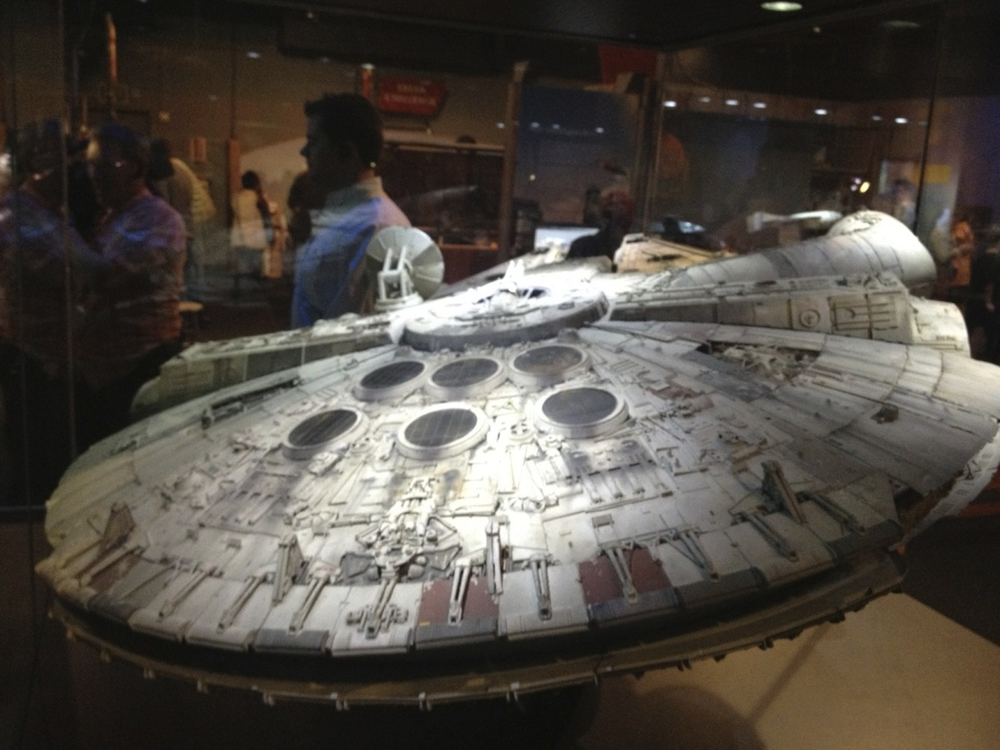 Millennium Falcon, Episode V and VI
