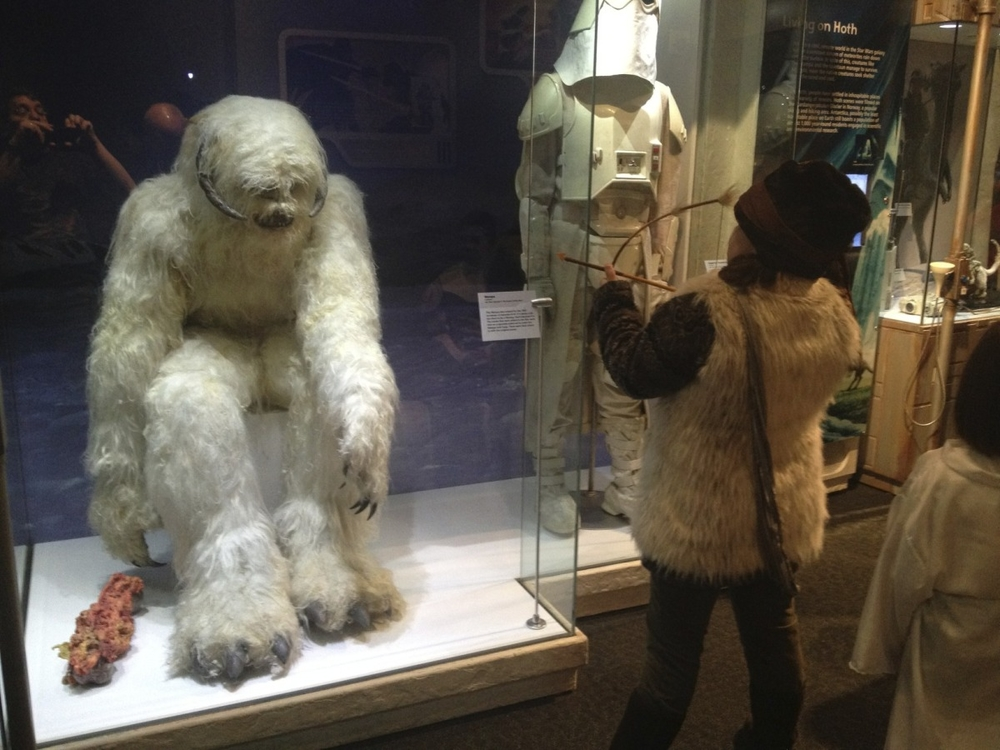 Sarah Takes on the Wampa