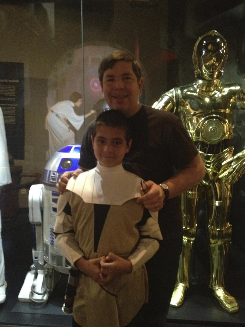 Me and Jedi Logan