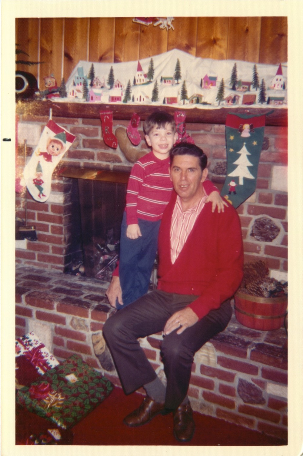 Dad and Me in 1972