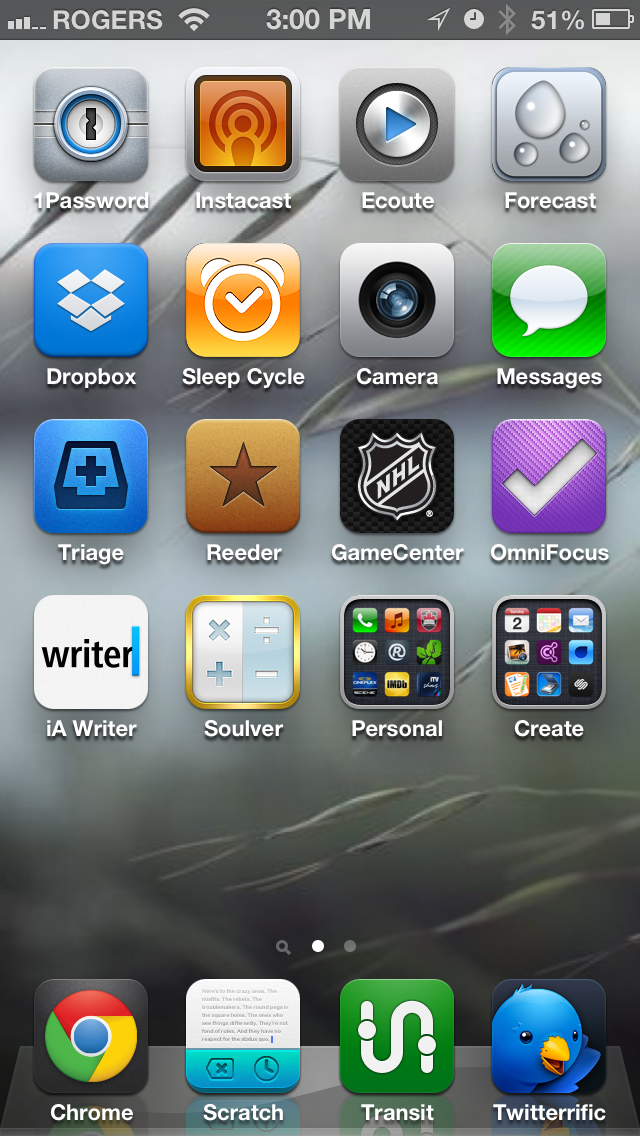 Chris Sauve Homescreen Screenshot.PNG