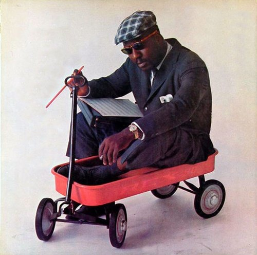 That's right. Monk even looked cool in a red wagon.