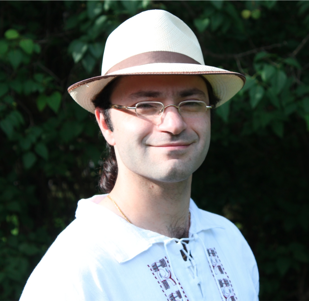 In addition to other super powers, Kourosh rocks a fedora.