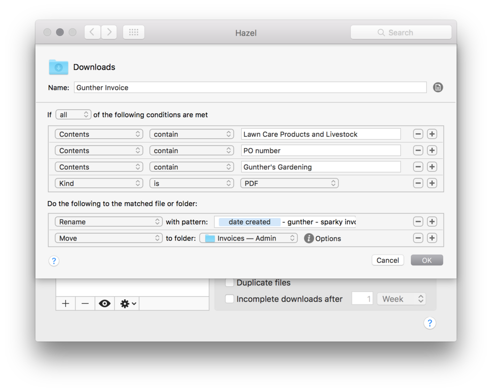 automating invoice processing on my mac macsparky