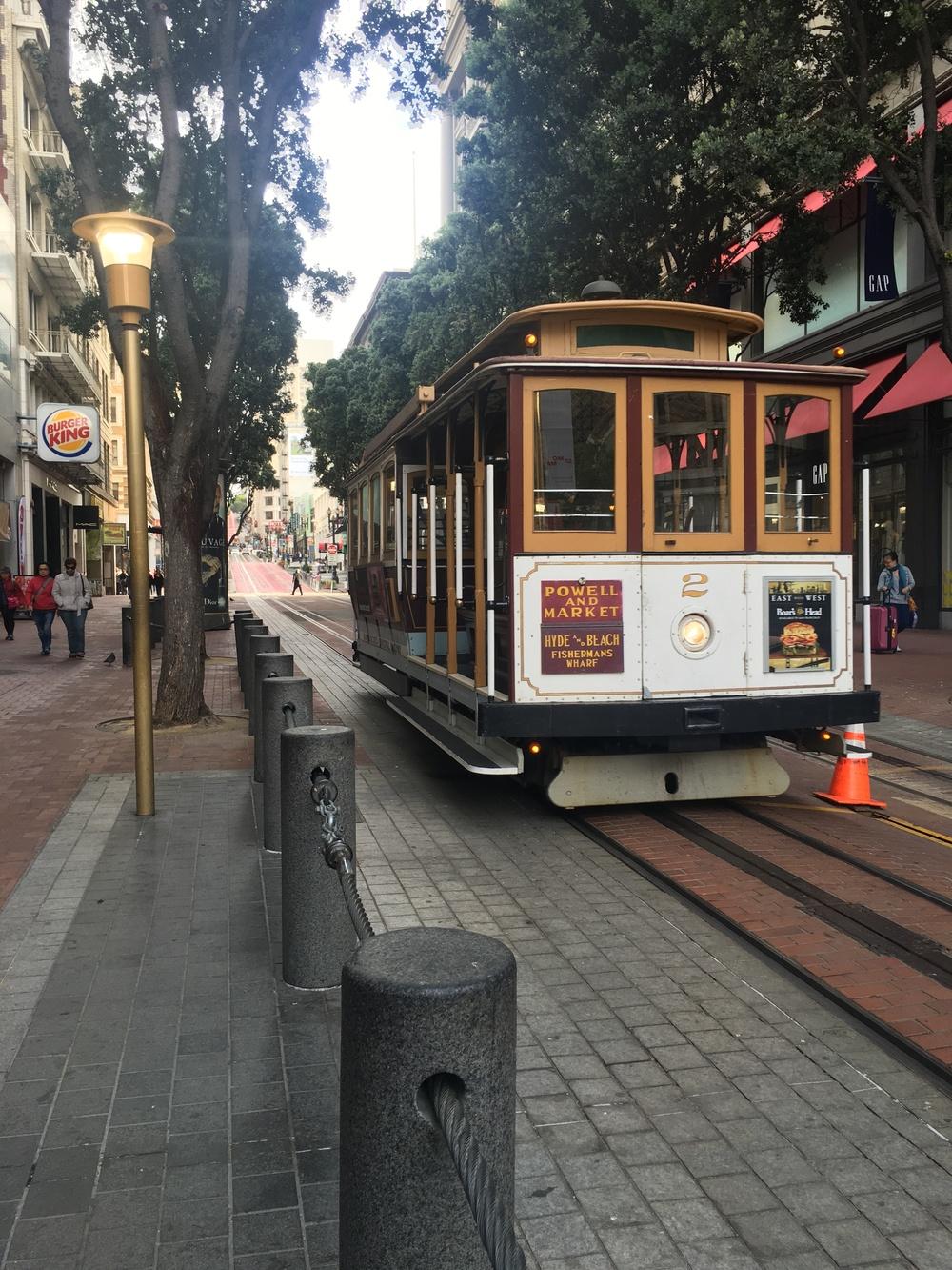 Because .... San Francisco