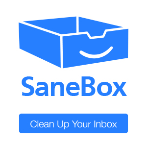 Sponsor: SaneBox Tame Your Inbox Today.