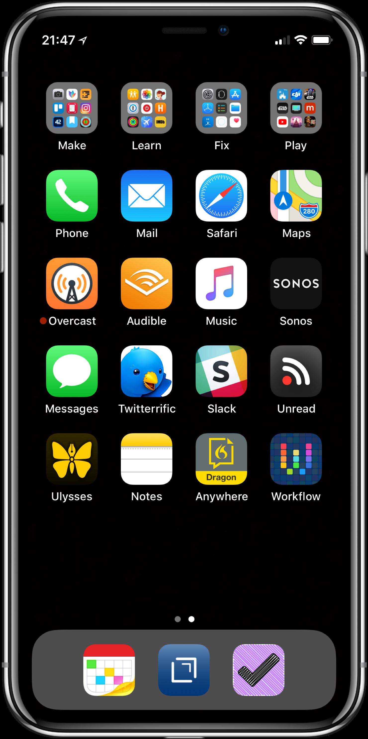 Wondrous My Iphone Home Screen 2018 Edition Macsparky Download Free Architecture Designs Xoliawazosbritishbridgeorg