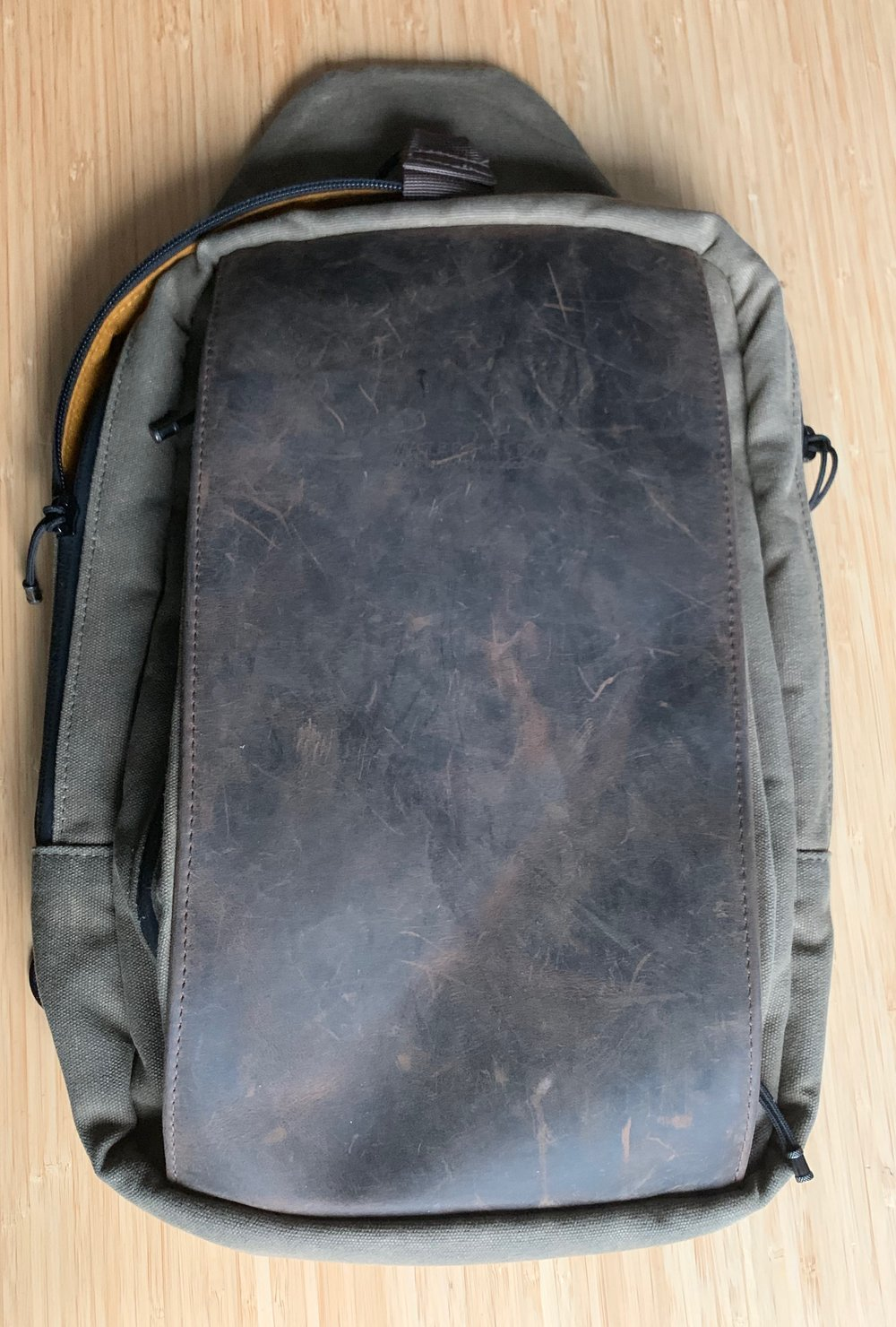 My well-loved Sutter Tech Sling. Click to enlarge.
