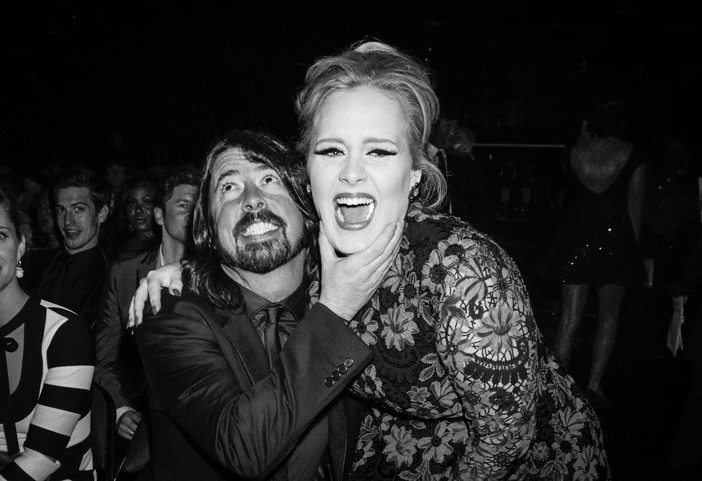 David Grohl and Adele