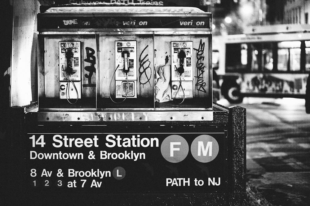 Payphones - New York, New York