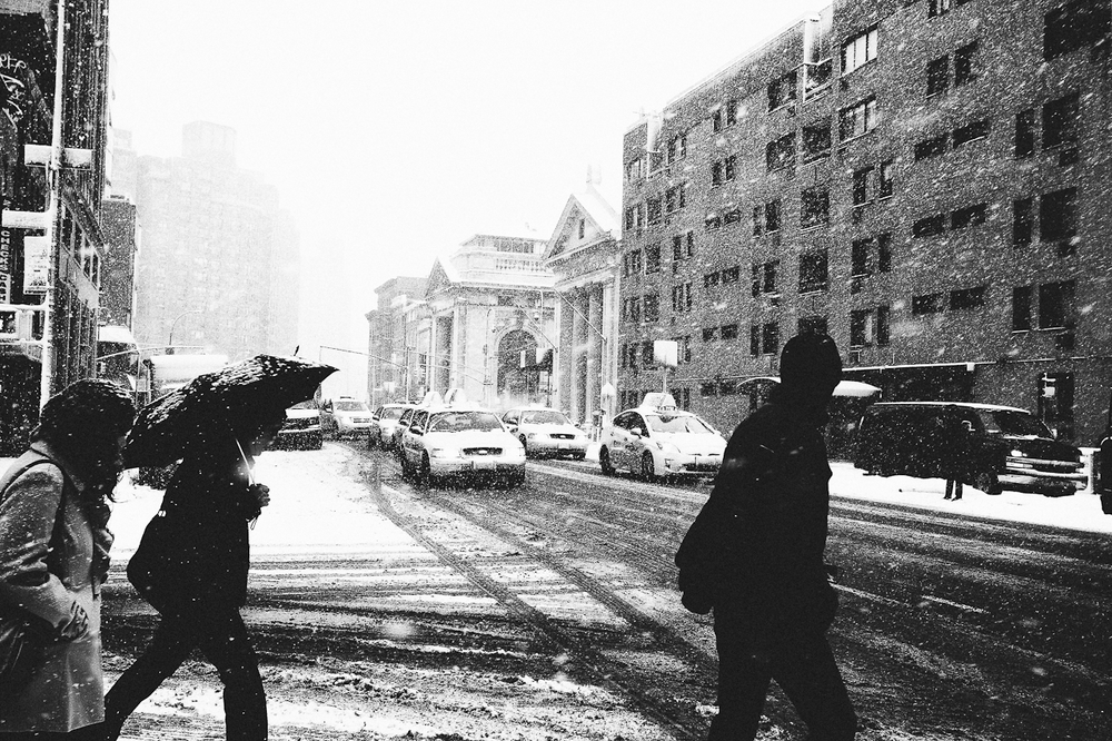 Snow - New York, New York