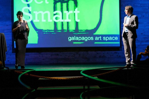 Q and A : Get Smart at Galapagos Art Space.jpg