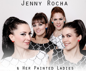 Since 2008, Jenny Rocha and Her Painted Ladies have been resident artists of Galapagos, performing acts specifically designed to complement our weekly flagship show, Floating Kabarette.                         jennyrocha.com