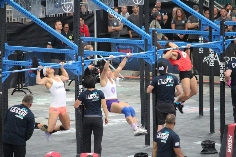 Doesn't this look like fun to you!?  The Ladies Compete @ Southern California Regionals - 2016