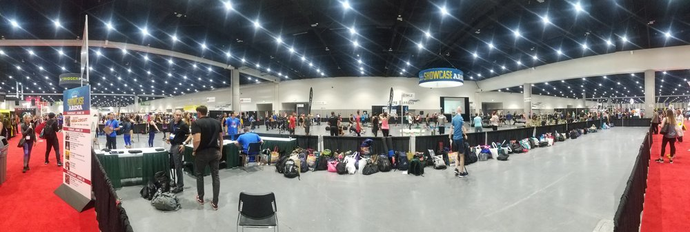 The 'MegaCircuit' Workout at the Expo