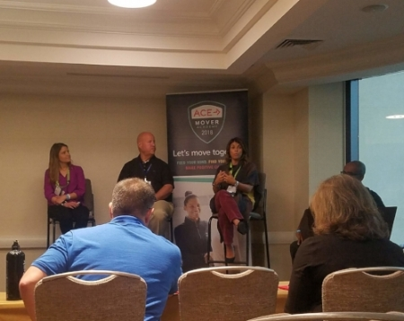 The ACE Panel - Natalie Digate Muth, Lee Jordan and Jessica Matthews.