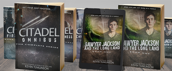 Looking for an escape? Get into some outstanding stories, straight from the mind of Kevin Tumlinson. Click above to go straight to the full library on Amazon.