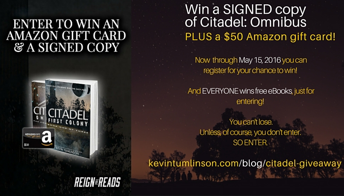 Don't keep it all to yourself! There are three chances to win, so share with everyone you know. EVERYONE wins SOMETHING in this giveaway, so spread the love!