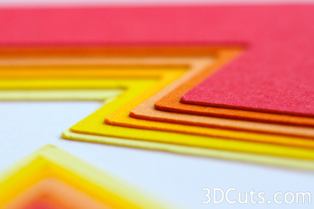 3DCuts.com, Marji Roy, 3D cutting files in .svg, .dxf, and pdf. formats for use with Silhouette and Cricut cutting machines, paper crafting files, nested contour cards