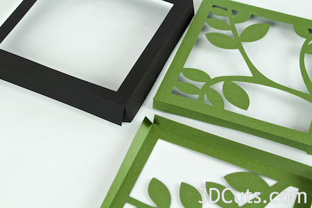 Tutorial Butterfly Shadow Box 3dcuts Com
