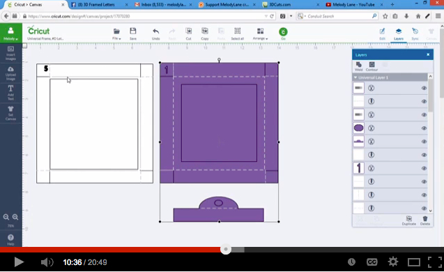 How To Import Fonts Into Design Space: Uploading Alphabet Shadow Boxes into Cricut Design Space u2014 3DCuts.comrh:3dcuts.com,Design