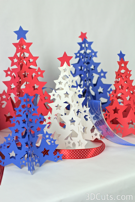 Tree of Stars in Paper by 3dcuts.com