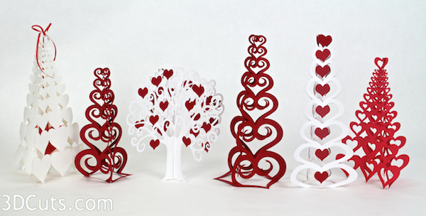 Tutorial Valentine Trees Tree With Heart Apples