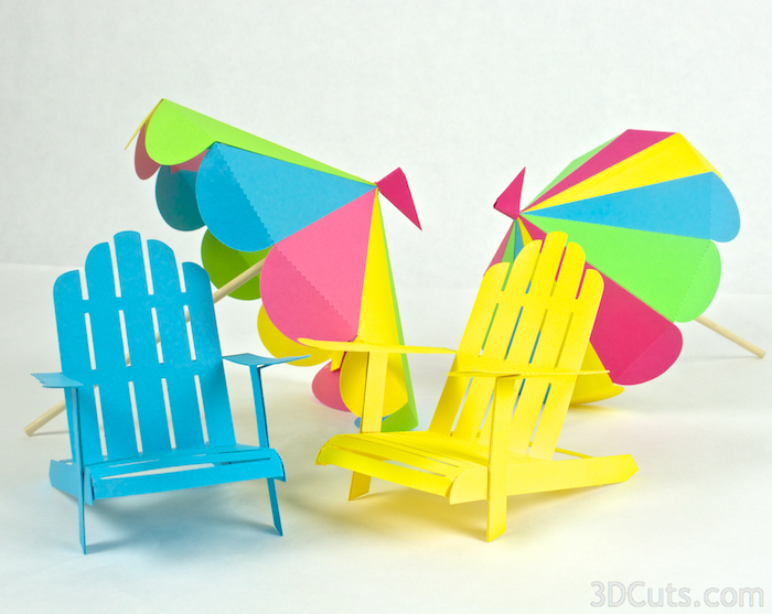 3d Adirondack Chairs By 3dCuts.com, Marji Roy Designs 3D Cutting Files In .