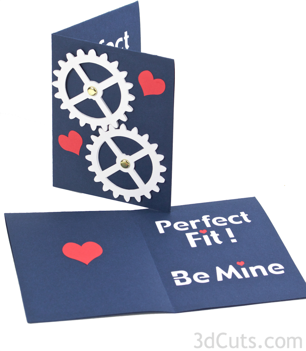 Gear Valentine by 3dcuts