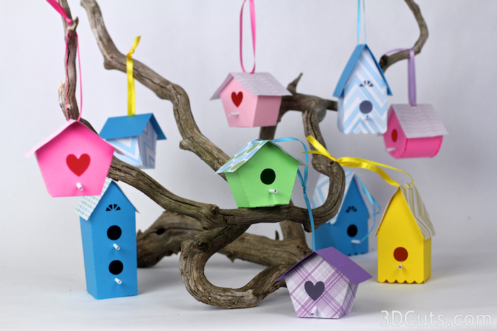 Four different Bird Houses - all for $2.49  here .