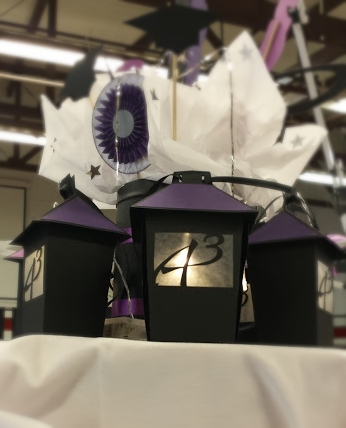 Graduation Lanterns by Wendy Locke