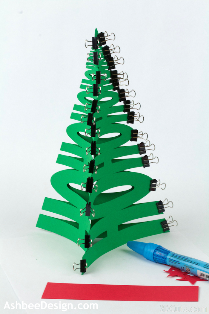 HoHoHo Christmas Trees by 3dcuts.com 7.jpg