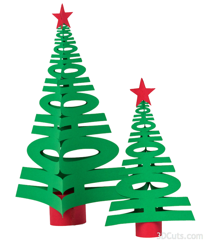 HoHoHo Christmas Tress by 3dcuts.com.jpg