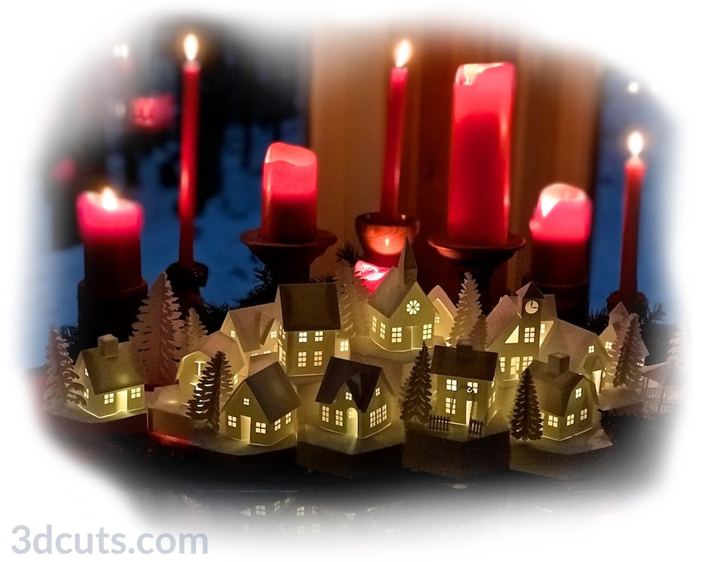 Tea Light Village by Marji Roy 3dcuts (1).jpg
