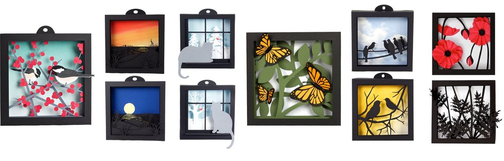 Paper shadow boxes by Marji Roy of 3dcuts.jpeg