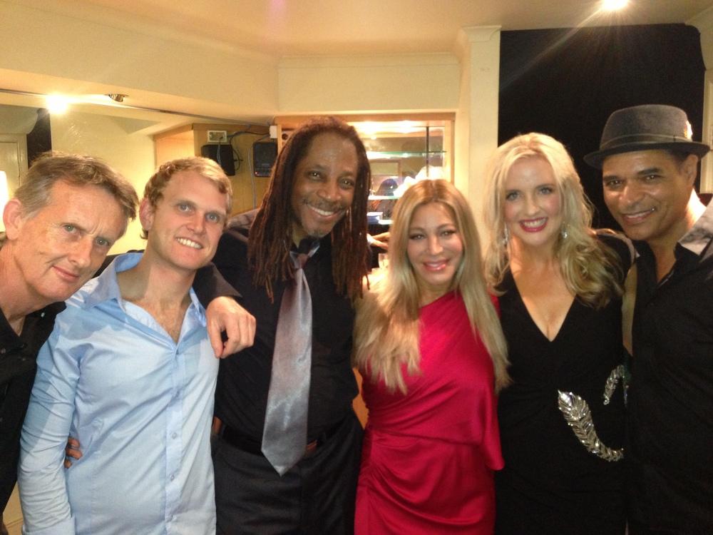 Sam, Aiden, Doug, Taylor, Simone andEric. Go team!